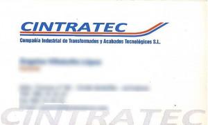 tarjeta cintrarec