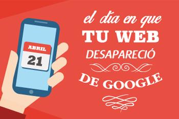 El día que tu web desapareció de Google