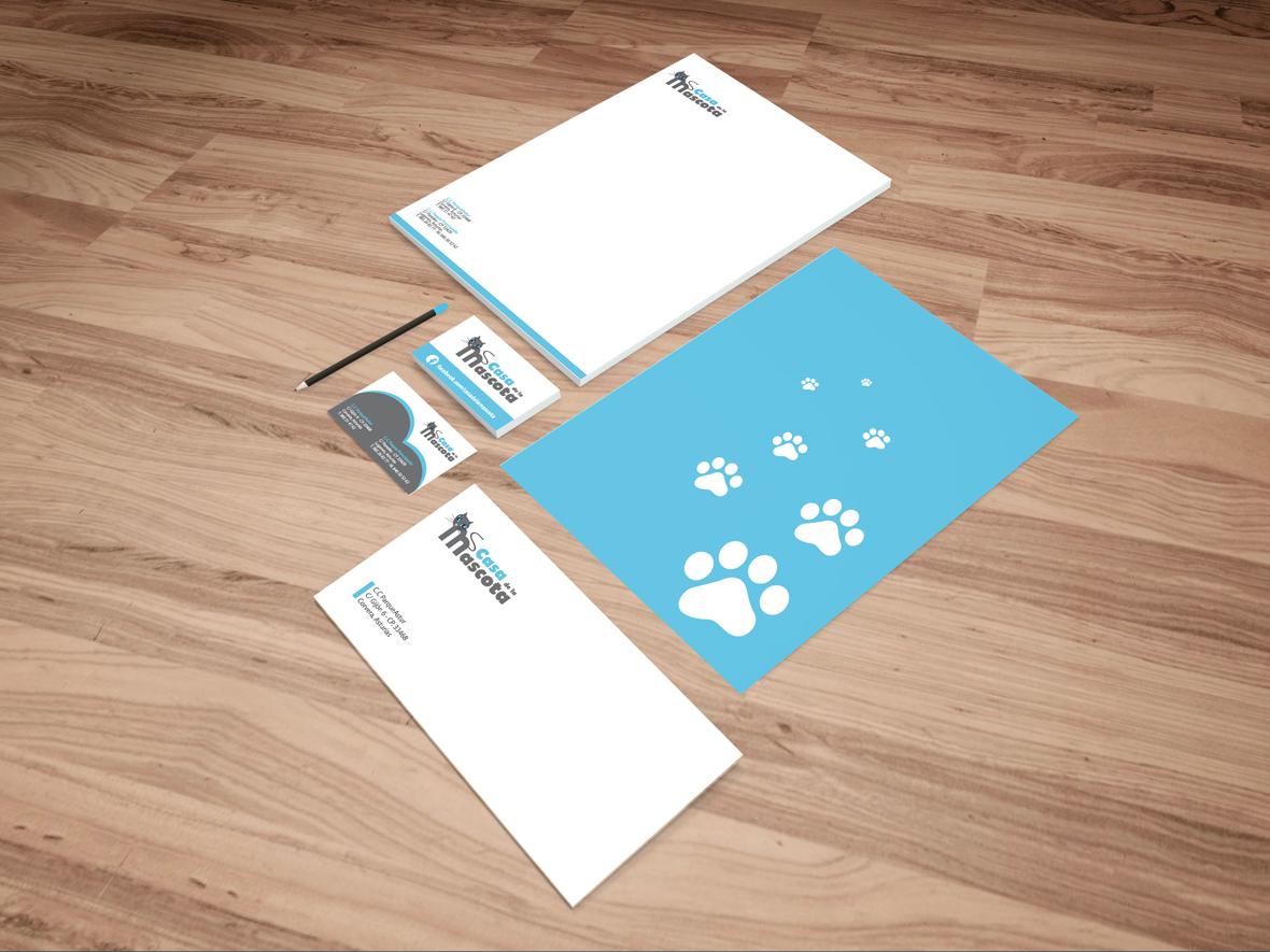Casa de la mascota logo e imagen corporativa chiwake comunicaci n agencia de publicidad - La casa de la mascota ...