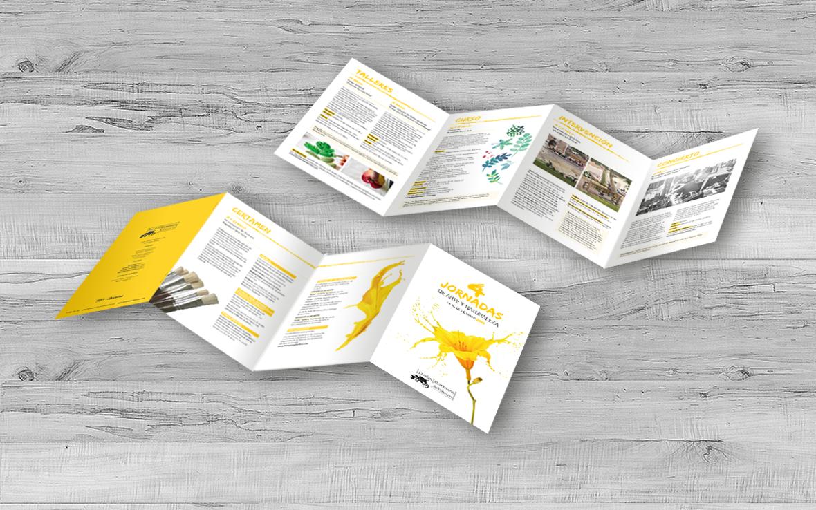 folleto botanico zig zag